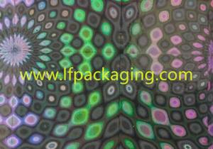China Competitive price metallized BOPP holographic film for lamination and printing on sale