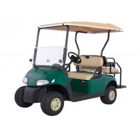 4 Wheel Mini Electric Car Golf Cart With 2 Rear Seats Powered By 48V Maintenance Batteries