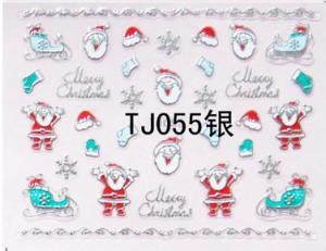 China Fashion Design Accessories 3D Nail Stickers Manicure Decoration Sticker on sale
