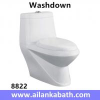 Middle East Bathroom Sanitary Ware Ceramic S-trap250 Roughing-in Washdown One-piece Toilet