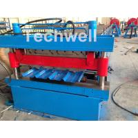 Roof / Wall Panel Double Deck Roll Forming Machine , Double Layer Roll Former