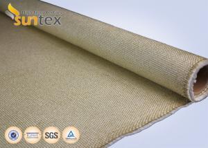 China 0.8mm Turbine Blanket High Temperature Fiberglass Cloth 8H Satin 3784HT 550C on sale