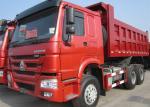SINOTRUK HOWO 6x4 Heavy Duty Dump Truck 336HP ZZ3257N3647B With Big Load