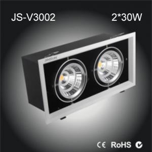 China double head LED COB Grille light 60w whole sale www.dt-lights.com on sale
