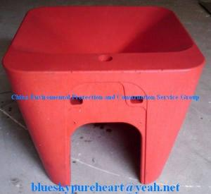 China rotomoulded plastic basin (construction) on sale