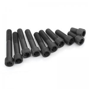 China Black Socket Cap Head Wheel Lug Bolts Carbon Steel Material Easy Installation on sale