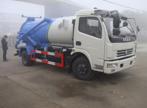 China hot sale cheapest price clw brand  dongfeng duolika 4*2 LHD/RHD 6m3 sewage vacuum truck on sale