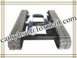 high quality rubber crawler undercarriage rubber track chassis rubber track undercarriage