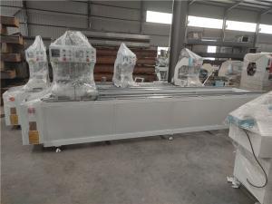 China Three Head Seamless Welding Machine UPVC Window Machine For Door Frame Corner Joining on sale