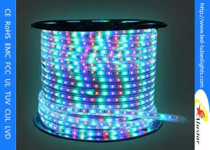 China 220V 110V Flexible LED Strip Light 3528 SMD , Color Changing Led Rope Light on sale