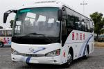 Higer 35 Seat Used Mini Bus , Used Diesel Coaches 100 Km/H Speed Wheelbase 4250mm