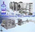 complete drinking water bottling line