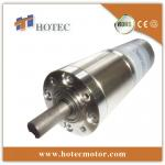 low backlash 10mm shaft 45mm planetary 24v dc gear motor