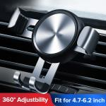 car vent phone holder  Automatic Clamping Wireless adjustable cell phone holder for car air vent