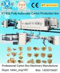 China Cardboard Carton Packing Machine Slotter Die - Cutter Inline With Folder Gluer Bundler wholesale