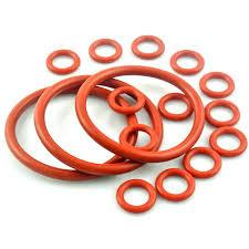 China Durable Silicone Rubber O Ring Seals Abrasion Resistance For Mechanical supplier