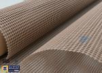 PTFE Coated Fiberglass Fabric 580GSM 4*4MM Mesh Screen Printing Conveyor Belt