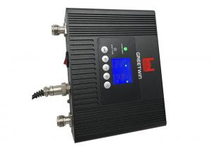 China LCD Screen Dual Band Cell Phone Repeater 23dBm 900MHz 1800MHz With ALC Control on sale