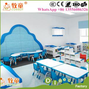 China Kids daycare tables and chairs for sale , kindergarten furniture india on sale