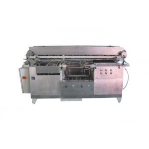 China 3kw Horizontal Labeling Machine , Wet Glue Self Adhesive Labeling Machine on sale