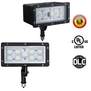 China High Lumen 6800Lm UL DLC 70 Watt LED Flood Light Fixture AC100-277V on sale