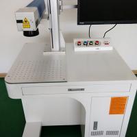 Air - Cooling good price Fiber Laser Marking Machine , High Precision Laser Code Printer