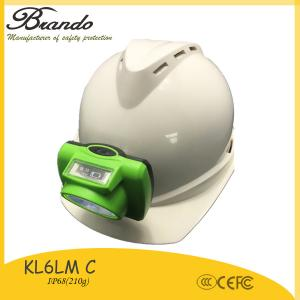 China 3.7V safety cap lamp with 6.8Ah rechargeable Li-ion battery, wireless mining light on sale