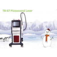 Makeup Picosecond Tattoo Reduction Machine , 1064nm 755nm 1320nm Pigmentation Removal Equipment