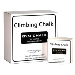 China Magnesium Carbonate climbing Chalk block chalk gym chalk (Case of 36 Boxes) on sale