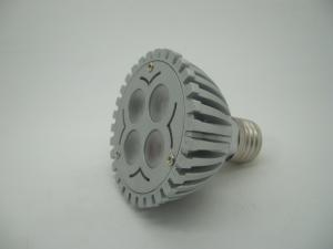 China High Efficiency 4W LED Spotlight Bulb(4*1W) E27 base lamp on sale