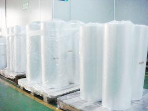 China Transparent Smooth surface environmental Pesticide fertilizer water soluble PVA packaging film roll supplier on sale