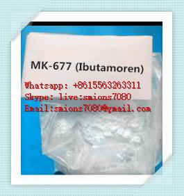 CAS 159752-10-0 SARMS Raw Powder Mk677 / Mk-677 / Ibutamoren
