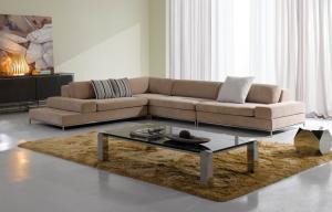 China Luxury modern sectional sofas ,  Corner Modern Fabric Sofas , Italian sofas designs on sale