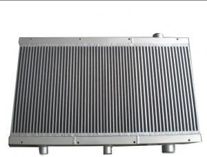 China Structure d'échangeur de chaleur d'aileron de plat, refroidisseur de compresseur d'air avec le Temp ambiant du degré 0-50 on sale
