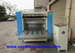 China High Speed Facial Tissue Machine 4800 Sheets / Min For Cube Box Facial Tissue on sale