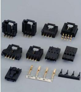 China Disk Drives Electrical Wire Connectors Equal TE AMP 104257-9 2.54MM Pitch Rohs on sale