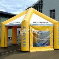 inflatable sphere tent