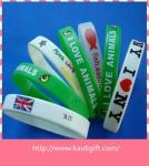 Оптовые дешевые браслеты силикона для промотирования