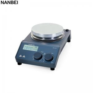 China Brushless DC Motor Hotplate Magnetic Stirrer Laboratory Instrument LCD Display on sale