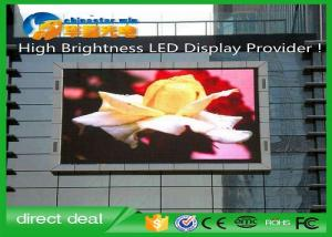 China Sexy Video 1080p P10 Advertising LED Signs , Waterproof Full Color LED Screen 1R1G1B on sale