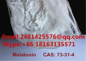 China High Purity Sleep Imporvement Pharmaceutical Intermediate Melatonin CAS 73-31-4 on sale