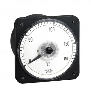 China Analogue Display Non Electricity Units Meter 110*110mm 0-1000℃ Measuring Range on sale