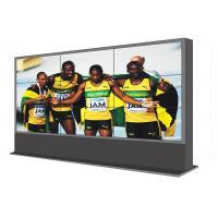 Floor Standing 46 Inch LCD Video Wall , Outdoor Digital Advertising Screen