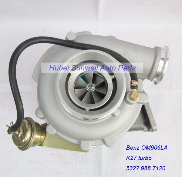 Benz OM906LA engine K27 turbo charger 53279887120
