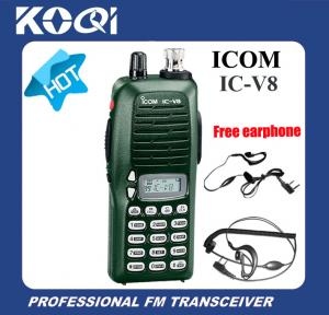 China Portable Walkie Talkie IC-V8 with Free Headset on sale