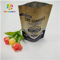 China Doypack k Aluminum Foil Pouch Premium CBD Hemp Flower Tea Packaging Smell Proof on sale
