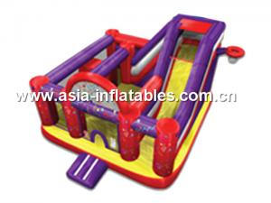 China 2014 new design cheap inflatable slide,china inflatable combo on sale