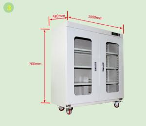 China Portable Clean Room Storage Cabinet With Temperature Humidity Display on sale