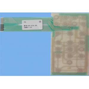 China Flexible 2 Layer Custom Printed Circuit Board PCB for Tactile Membrane Switch on sale