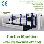 Máquina que corta con tintas y que arruga del cartón de papel automático de ZJ-1060TS con el desmontaje